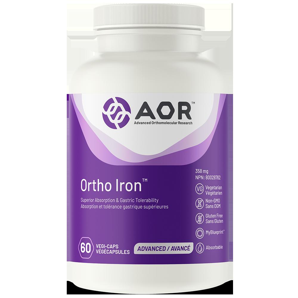 AOR-Ortho-Iron-60 capsules