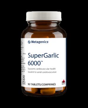 Super Garlic-6000-90comps.-Metagenics