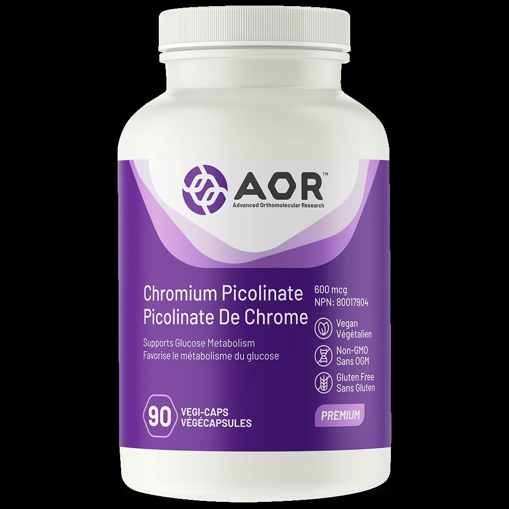 AOR Chromium-Picolinate 90 capsules végé