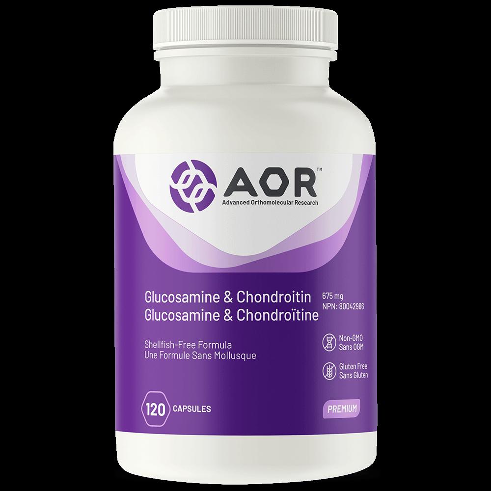 AOR Glucosamine-Chondroitin 120 capsules