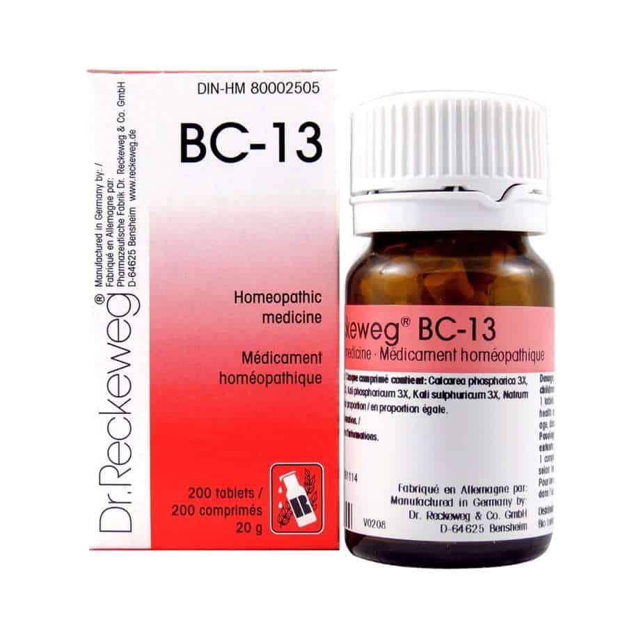 BC-13 200 Tablets Reg  $11 95
