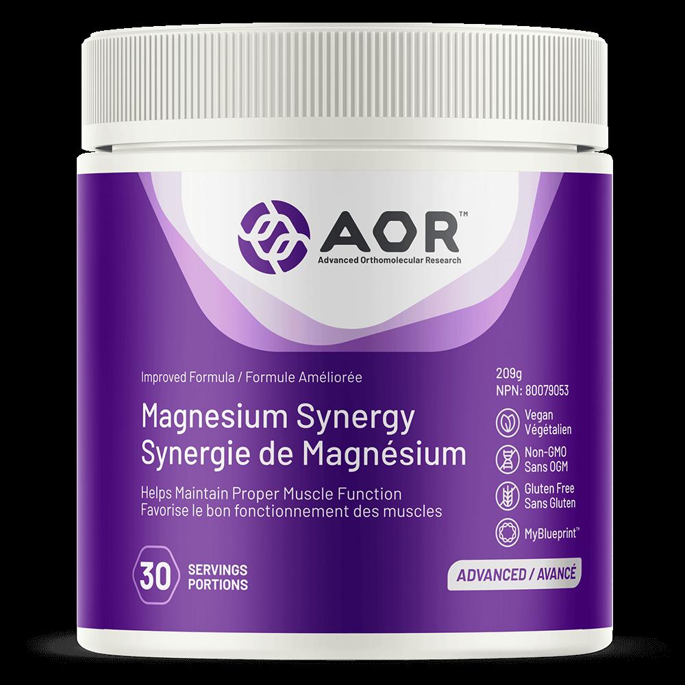 AOR Magnesium-Synergy 30 portions