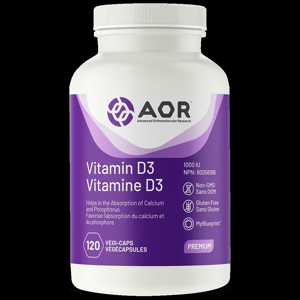 AOR-Vitamin-D3-120 caps