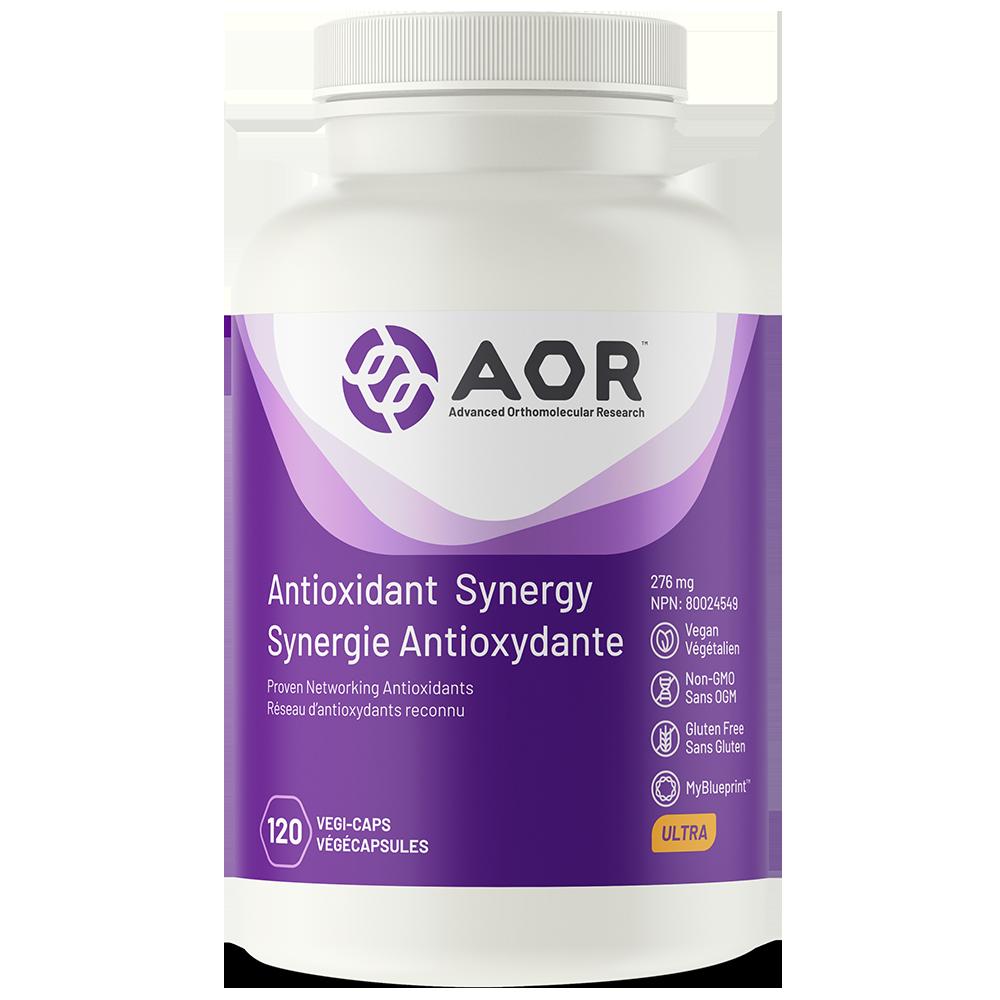 AOR-Antioxidant-Synergy-120 v. caps.
