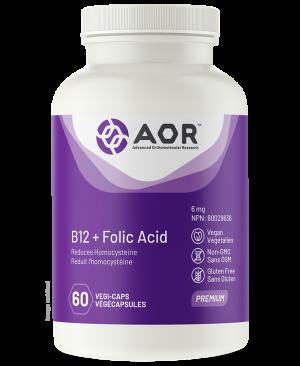 AOR-B-12-Folic Acid 60
