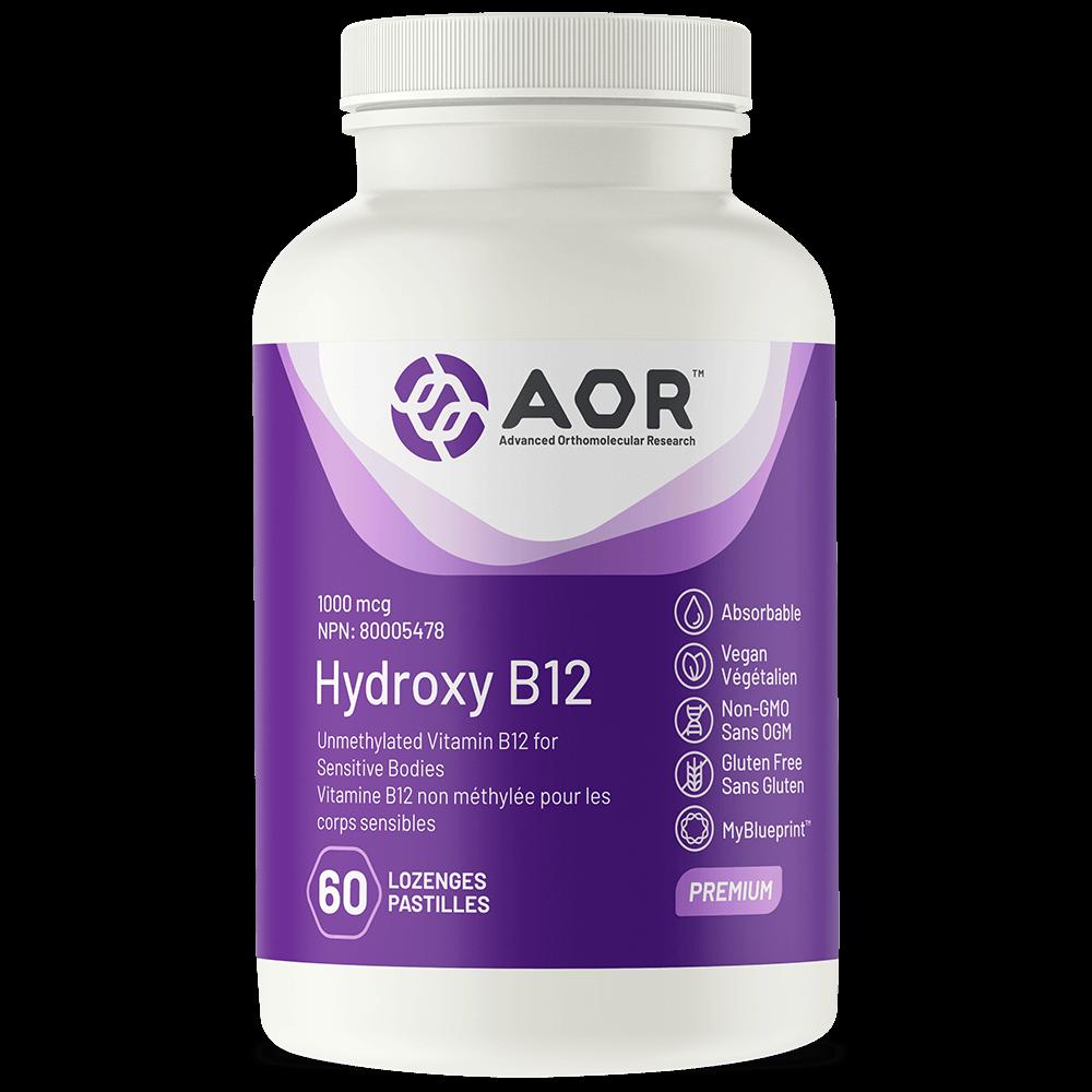 AOR-Hydroxy-B12-60 pastilles