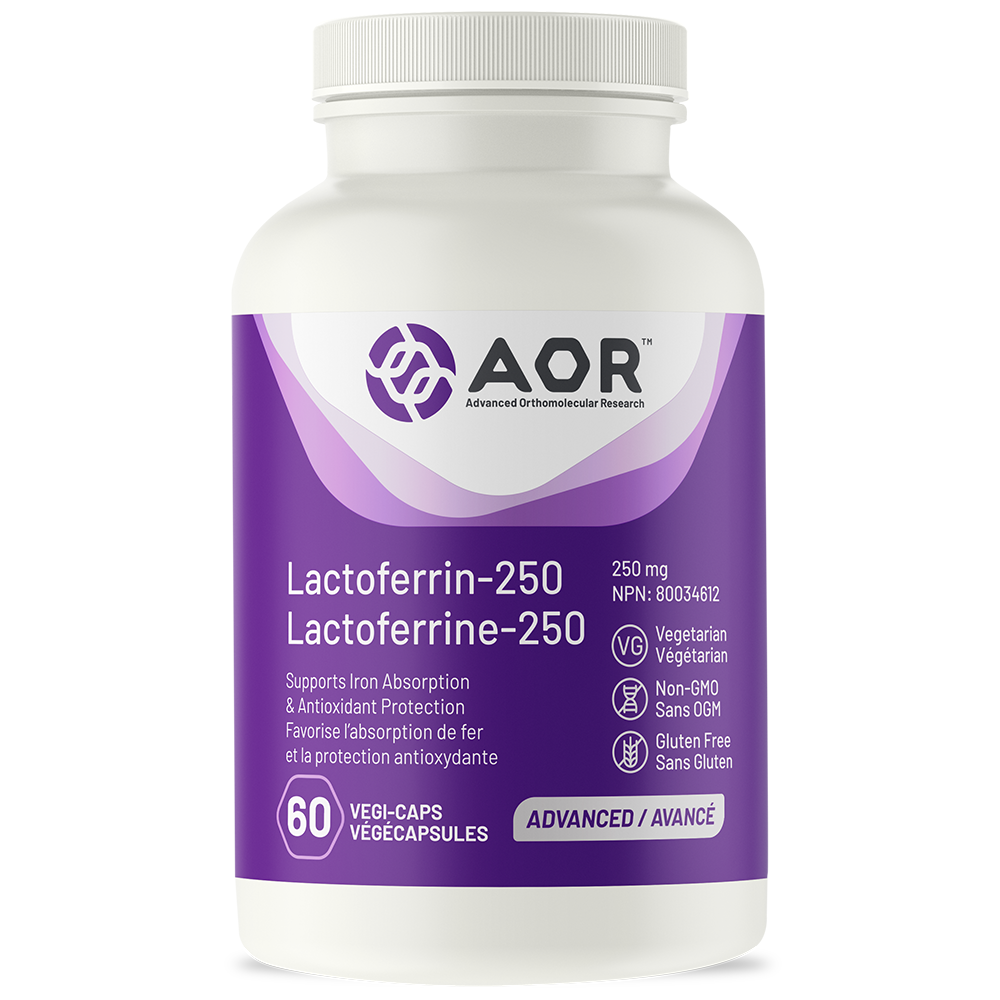 AOR-Lactoferrin-250-60 v. caps.