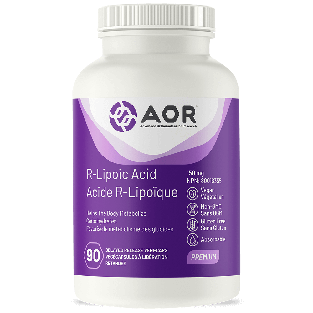 AOR-R-Lipoic-Acid-90 veg. caps.
