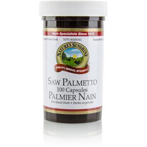 Nature's Sunshine Palmier Nain 100 caps.Nature's Sunshine Palmier Nain 100 capsules