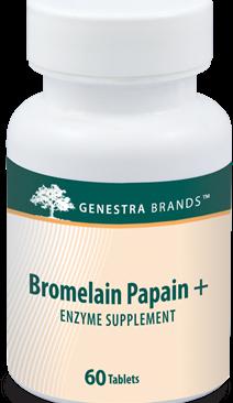 Bromelain Papain + Genestra 180